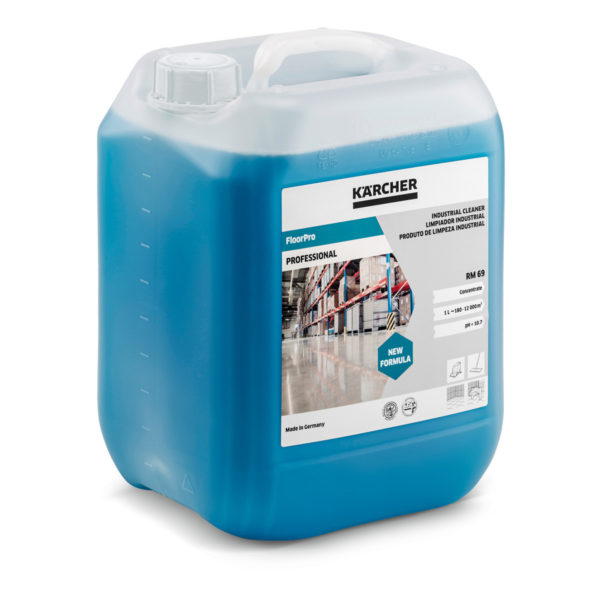 Detergente para uso industrial FloorPro RM 69 de 10 litros