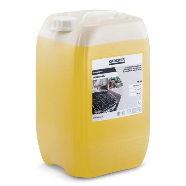 PressurePro detergente activo, alcalino RM 81 de 20 litros