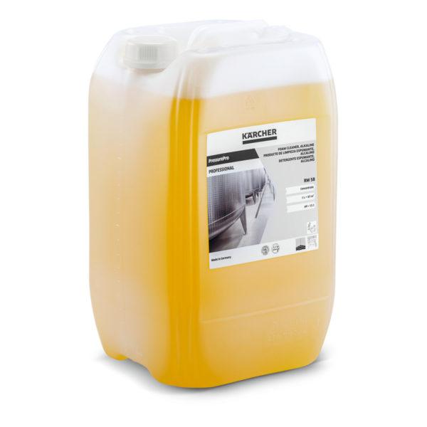 PressurePro detergente espumante alcalino RM 58 de 20 litros