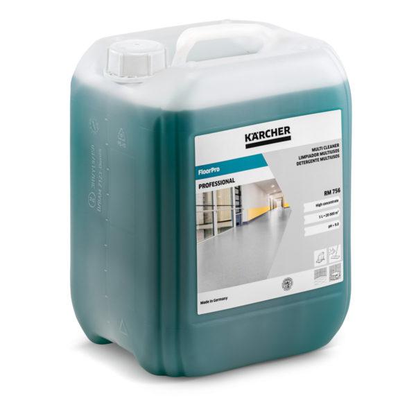 Limpiador FloorPro Multi RM 756 de 10 litros