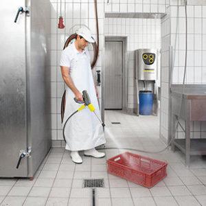 Limpiadoras de alta presión estacionarias