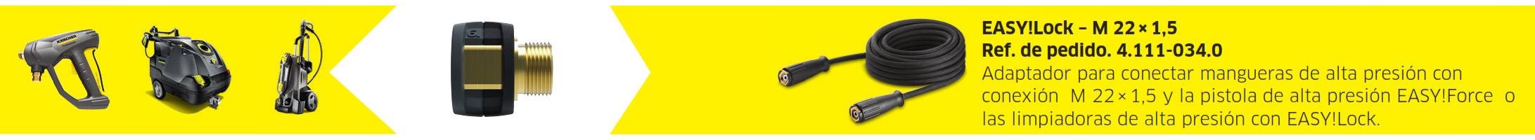 adaptador 6 - Adaptador 6 - De EASY!Lock a Terminación roscada M 22 x 1,5