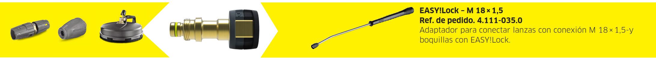 adaptador 7 - Adaptador 7 - De EASY!Lock a Terminación roscada M 18 x 1,5