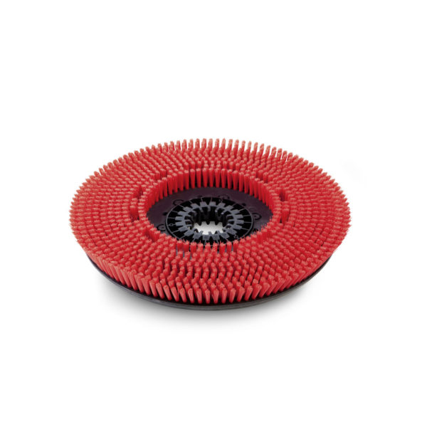 Cepillo circular, medio, rojo, 510 mm.  KARCHER. 4.905-026.0